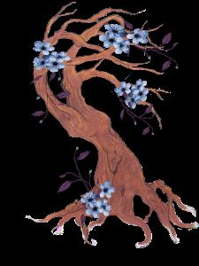 ladyflowertre